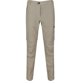Regatta Highton Stretch Pantalones Zip-Off Hombre, beige
